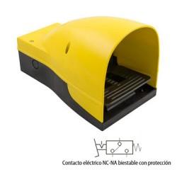 PEDAL ELÉCTRICO BIESTABLE CON PROTECCIÓN REF. 06V8 AIGNEP
