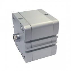 CILINDRO COMPACTO Ø80 SIMPLE EFECTO MAGNÉTICO ISO 21287 REF. WB AIGNEP