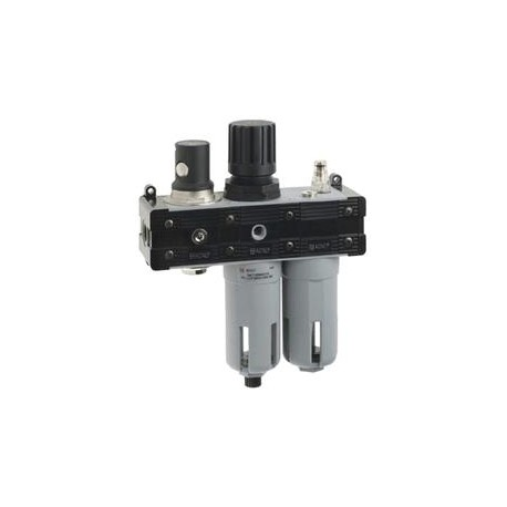 Válvula de corte filtroregulador lubricador marca Aignep