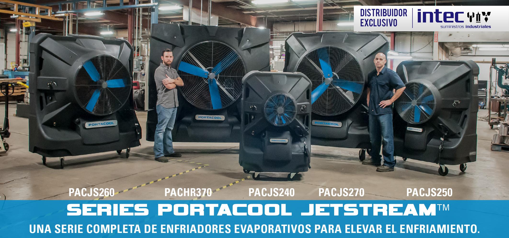 enfriadores evaporativos portacool jetstream