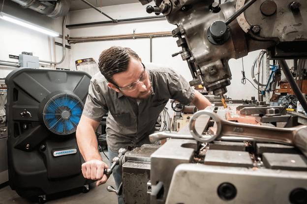 enfriadores-evaporativos-en-taller-mecanico