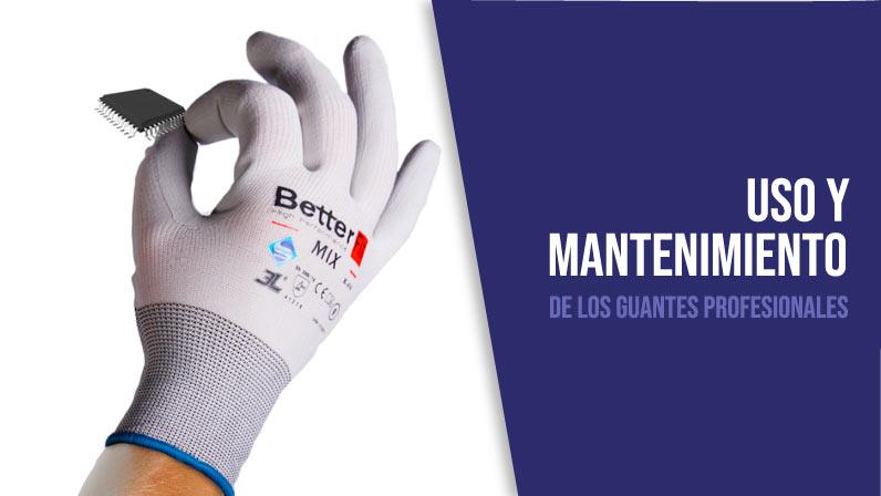 Banner uso y mantenimiento de los guantes