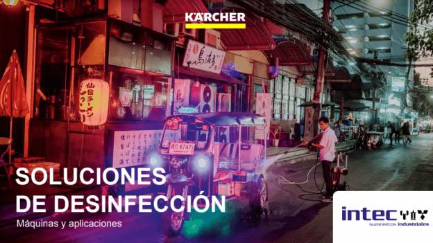 Soluciones de desinfección frente al Covid-19 con Karcher