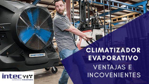 Climatizadores evaporativos industria Banner