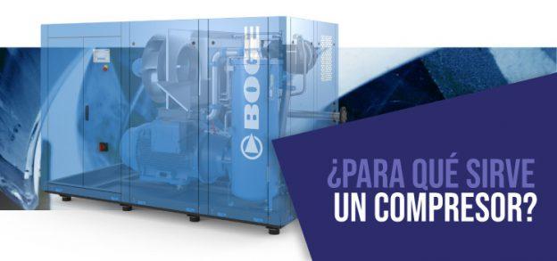 Banner compresor industrial