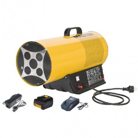 Calefactor máster hibrido BLP 17m DC aire caliente