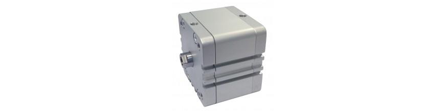 CILINDROS COMPACTOS ISO 21287 Ø20-100 MM